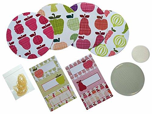 Kitchen Craft Home Made Etiketten für Einmachgläser, 24 Stück