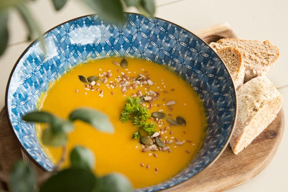 Frische Suppe auf Vorrat